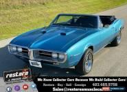 1967 Pontiac Firebird 400 Auto, Convertible, Nut & Bolt Restored, Mint for Sale