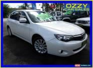 2010 Subaru Impreza MY10 R (AWD) White Automatic 4sp A Hatchback for Sale