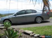 Ford Fairmont Ghia (2004) 4D Sedan Automatic (4L - Multi Point F/INJ) 5 Seats.   for Sale