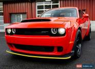 2018 Dodge Challenger SRT Demon for Sale