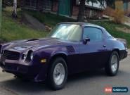 1979 Chevrolet Camaro Z28 for Sale