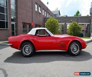 Classic 1971 Chevrolet Corvette for Sale