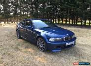 2002 BMW M3 Manual for Sale