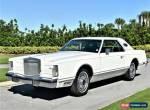 1978 Lincoln Mark V for Sale