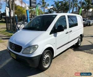 Classic 2007 Mercedes-Benz Vito 639 109CDI White Manual M Van for Sale
