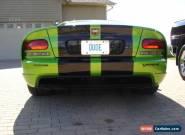 2010 Dodge Viper for Sale