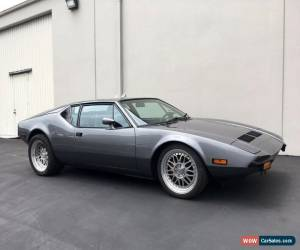 Classic 1972 De Tomaso Other for Sale