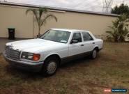 MERCEDES BENZ 300SE........... W126 for Sale