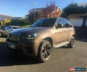 Classic BMW X5, XDRIVE40d, very rare bronze light damaged for Sale