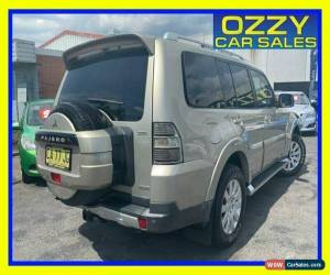 Classic 2007 Mitsubishi Pajero NS Exceed LWB (4x4) Gold Automatic 5sp A Wagon for Sale
