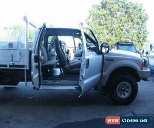 Classic 2003 Ford F250 RM XL (4x4) Silver Manual 5sp M Super Cab Chassis for Sale