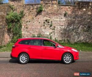 Classic 2012 Ford Focus estate 1.6 diesel 6 speed manual red in Liverpool  for Sale
