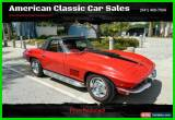 Classic 1967 Chevrolet Corvette for Sale