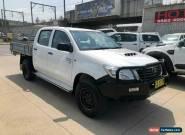 2011 Toyota Hilux KUN26R SR White Manual M Utility for Sale