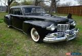 Classic 1947 Lincoln Continental for Sale