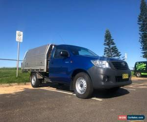 Classic 2012 Toyota Hilux Workmate 5 Sp Manual for Sale