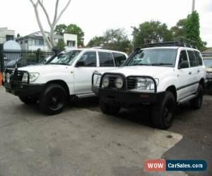 Classic 2000 Toyota Landcruiser HZJ105R (4x4) White Manual 5sp M Wagon for Sale
