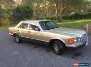 Mercedes w126 for Sale