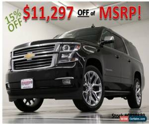 Classic 2020 Chevrolet Suburban MSRP$77545 4X4 Premier GPS Sunroof Leather Black for Sale