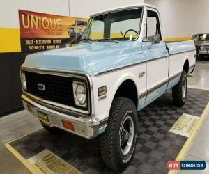 Classic 1971 Chevrolet K10 4x4 for Sale