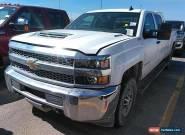 2019 Chevrolet Silverado 2500 4x4 Work Truck 4dr Crew Cab LB for Sale