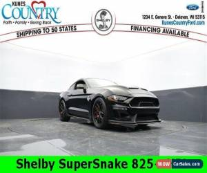 Classic 2020 Ford Mustang Shelby SuperSnake 825+ HP for Sale