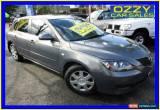 Classic 2008 Mazda 3 BK MY06 Upgrade Neo Grey Manual 5sp M Hatchback for Sale