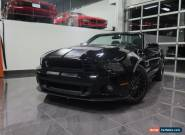 2014 Ford Mustang SHELBY GT 500 for Sale