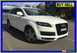 Classic 2008 Audi Q7 MY09 Upgrade 3.0 TDI Quattro White Automatic 6sp A Wagon for Sale