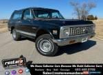 1972 Chevrolet Blazer K5 Cheyenne CST, 350ci-V8, Auto, 4x4, 51k Miles for Sale