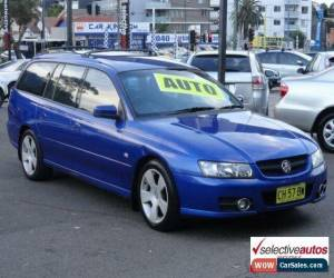 Classic 2006 Holden Commodore VZ MY06 SVZ Blue Automatic 4sp A Wagon for Sale