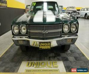 Classic 1970 Chevrolet Chevelle SS 396 for Sale