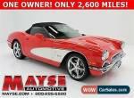 2012 Chevrolet Corvette 3LT for Sale