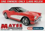 Classic 2012 Chevrolet Corvette 3LT for Sale