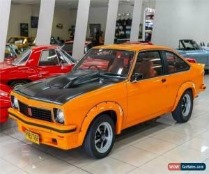 Classic 1976 Holden Torana LX SS Papaya Orange Manual 4sp M Liftback for Sale