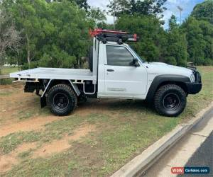 Classic 2010 Nissan Patrol GU 6 DX White Manual M Cab Chassis for Sale