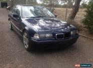BMW 318i (1998) 4D Sedan Automatic (1.8L - Electronic F/INJ) Seats blue for Sale