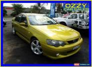 2003 Ford Falcon BA XR6T Gold Automatic 4sp A Sedan for Sale