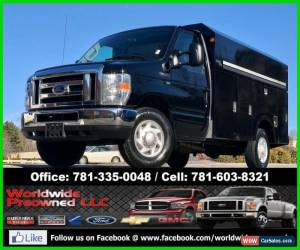 Classic 2011 Ford E-Series Van 11 Ford E350 E-350 XLT Cutaway Utility Service Van Truck Gas SRW for Sale