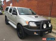 2008 Toyota Hilux KUN26R 07 Upgrade SR (4x4) Silver Manual 5sp M for Sale