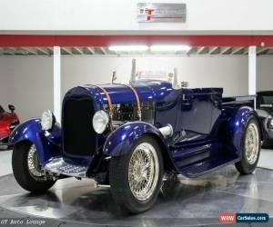 Classic 1929 Ford Model A Roadster for Sale