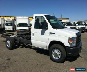 Classic 2018 Ford E-Series Van Cab N Chassis for Sale