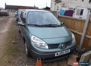 2005 RENAULT SCENIC DYNAMIQUE 16V Green for Sale