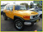2012 Toyota FJ Cruiser GSJ15R Yellow Automatic 5sp A Wagon for Sale