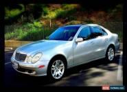 2003 Mercedes-Benz E-Class for Sale