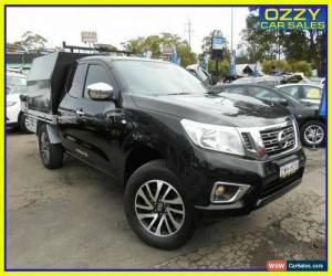 Classic 2018 Nissan Navara D23 Series III MY18 RX (4x2) Black Manual 6sp M King C/Chas for Sale