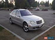 2004 Mercedes-Benz S-Class for Sale