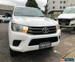 Classic 2015 Toyota Hilux GUN126R SR (4x4) White Automatic 6sp A Dual Cab Utility for Sale