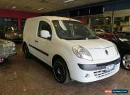 2010 Renault Kangoo X61 1.6 White Automatic 4sp A Van for Sale