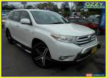 2010 Toyota Kluger GSU40R Grande (FWD) White Automatic 5sp A Wagon for Sale